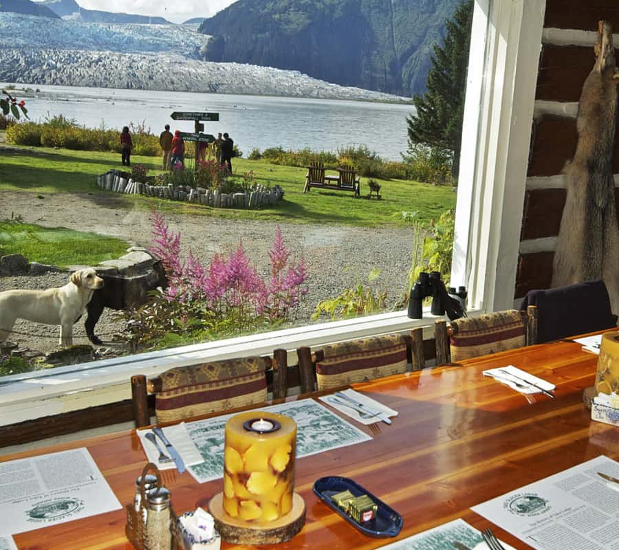 Taku Glacier Lodge Flight & Feast | Wings Airways Alaska